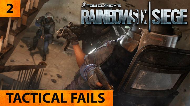 Tom Clancy's Rainbow Six Siege. Тактические фэйлы — выпуск 2