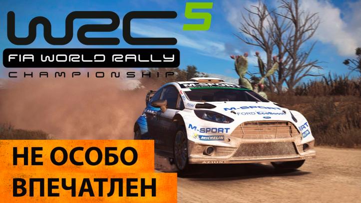 WRC 5 FIA World Rally Championship. Мнение об игре