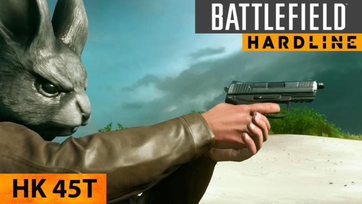 Пистолет Heckler & Koch HK45 в Battlefield Hardline